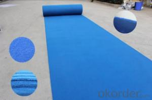Exhibition Carpet With Glue on The Backing