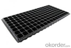 Plastic Growing Plastic Seed Tray/Plastic Seedling Tray