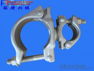Types of scaffolding  Swivel  couplers  for construction