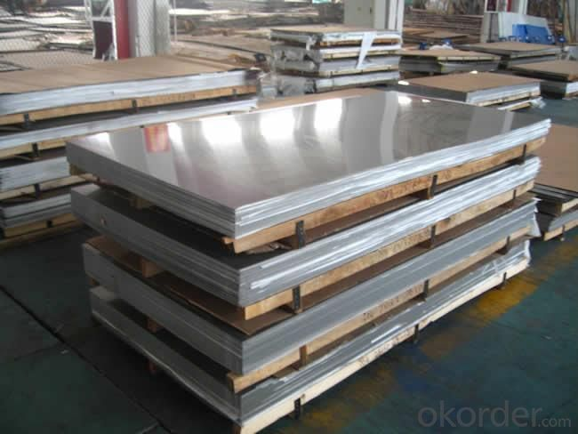 Stainless Steel Sheet Food with Embossed treatment
