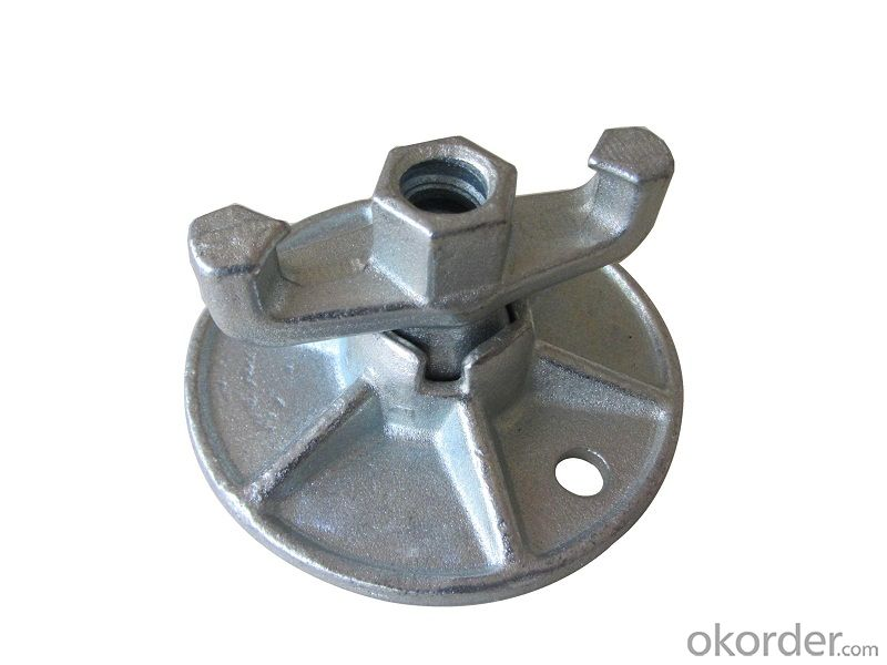 Formwork Accessory  Tie rod  Wing Nut  for construction