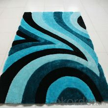 Carpet SD6136 and Machine Woven Shaggy rugs of Long Pile Polyester