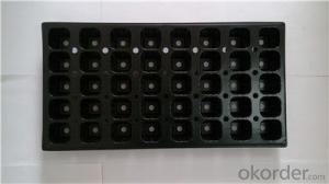 Hydroponic Seedling Planting Plastic Seeding Tray for Greenhouse