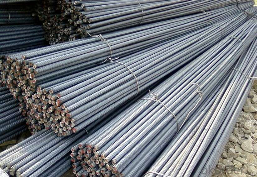 Hot Rolled Deformed Bar ou Reinforcement Bar 6mm-50mm