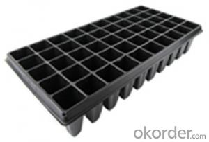 Planting Plastic Seeding Tray for Greenhouse PVC HIPS Seed Tray