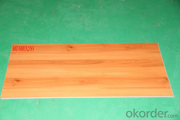 Vinyl Blank Flooring 3.5mm Thickness With Wood Designs
