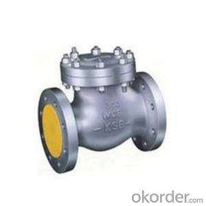 API Cast Steel Check Valve 150 mm in Accordance with ISO17292、API 608、BS 5351、GB/T 12237