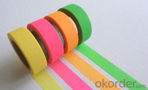 Masking Tape Jumbo Roll Custom Made Colored Tape