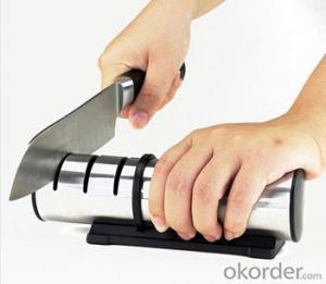 Diamond Stainless Steel Sharpener for Kitchen Knives