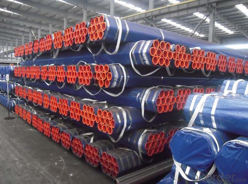 Seamless steel tube balck ASTMA106 GRADE B