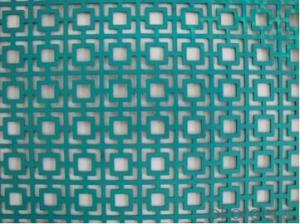 Decorative perforate metal sheet high quality