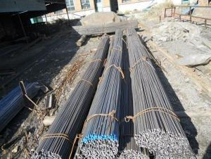 Mild Hot Rolled Steel Round Bars for  Bults and Nults