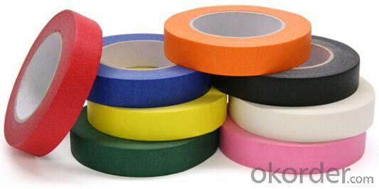 Crepe Paper Tape Printed Tape Colorful Tape