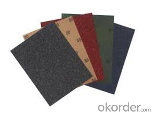 Waterproof Abrasives Sanding Paper  for Dry Wall and Car Surface