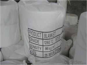 Ceramic Fiber Blanket 1260 C 1400 C 1600 C