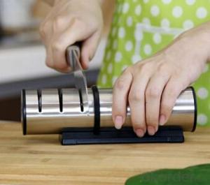 Diamond Stainless Steel Sharpener for Kitchen Knives