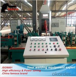 Power saving pipe making machine solid state hf welder