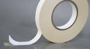 Double Sided Tissue Tapa Solvent Based Acrylic Tape for Bonding