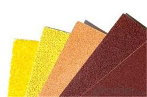 Waterproof Abrasives Sanding Paper  for Inox