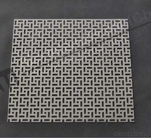 PVC coated Decorative perforate metal sheet