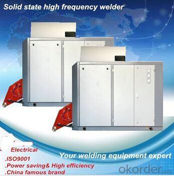 800kw stainless steel solid state high frequency induction heating welder