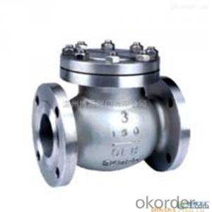 API Cast Steel Check Valve   200 mm  in Accordance with ISO17292、API 608、BS 5351、GB/T 12237
