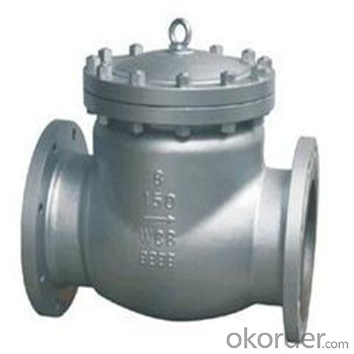 API Cast Steel Check Valve    500 mm  in Accordance with ISO17292、API 608、BS 5351、GB/T 12237