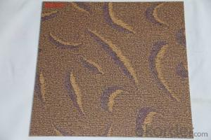 Vinyl Click Flooring 3.5mm Thickness With Carpet Designs