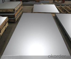 Stainless Steel sheet with polishing treatment