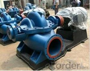 Centrifugal Split Casing Double Suction Water Pump for High Flow Rate