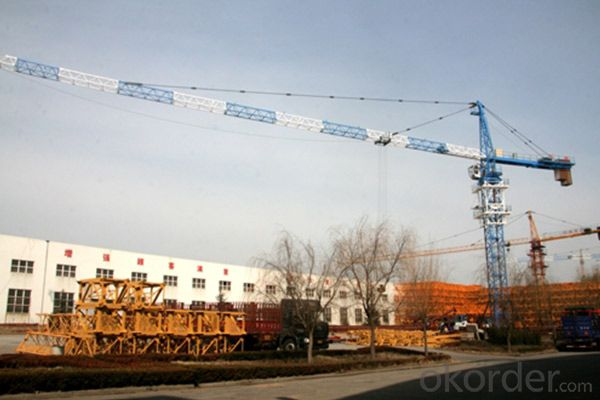 QTZ80(TC5513s) tower crane