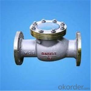 API Cast Steel Check Valve Flange RF in Accordance with ISO17292、API 608、BS 5351、GB/T 12237