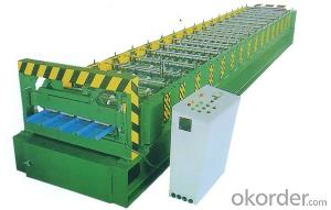 Metal Roofing Profile Cold Roll Forming Machine