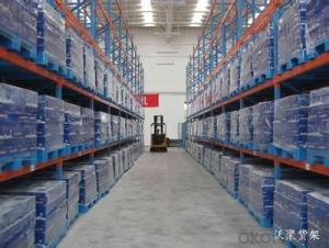 Beam Type Pallet Racking System for Warehouse