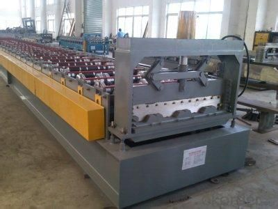 Steel Decking Floor Cold Roll Forming Machine