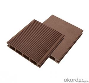 Wood Plastic Decking with high quanlity in China