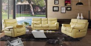 Modern Recliner Sofa, American Style, Manual Recliner