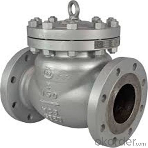 API Cast Steel Check Valve A216 WCB Body Material in Accordance with ISO17292、API 608、BS 5351