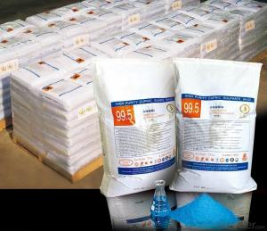 Copper Sulfate99% with Best Price with BV Test