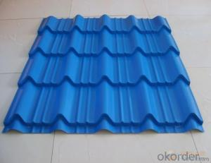 High Quality of Corrugated Prepainted Galvanized Steel Sheet  from China