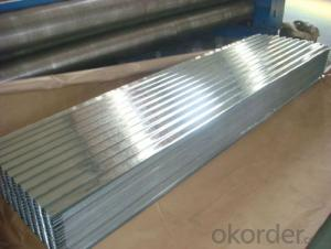 High Quality of Corrugated Galvanized Steel Sheet from China
