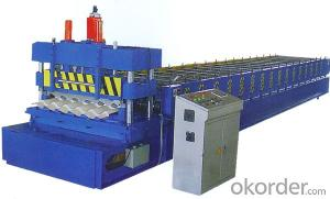 Glazed Tile Profile Cold Roll Forming Machines