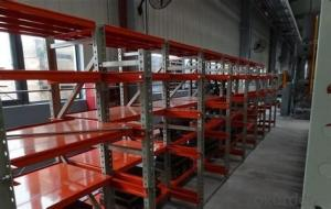 Steel Module Type Pallet Racking Systems
