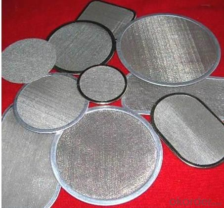 Aluminum Filter Disc Wire Mesh with Competitive Price