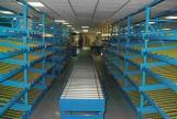 Sistema de paletización para almacenes por flujo de carga.