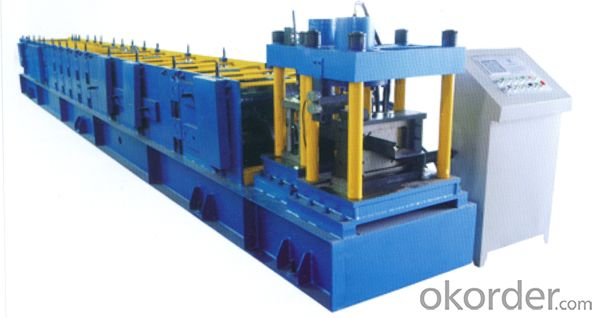 C and Z Steel Profiles Roll Forming Machine