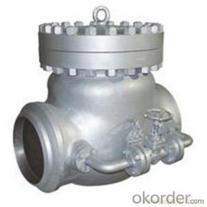 API Cast Steel Check Valve 450 mm in Accordance with ISO17292、API 608、BS 5351、GB/T 12237