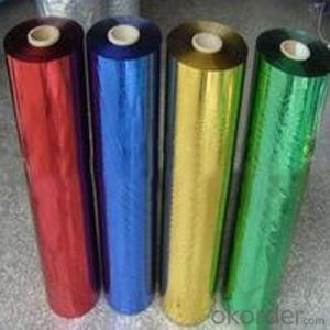 Metalized Lamination Film PET 2015 Popular
