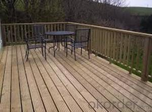 Environment Friendly  Home Decking Made In China