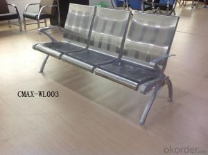 Public Waiting Chair with 3 Seater CMAX-WL017